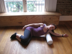 Latissimus Dorsi Roll-out with Foam Roller